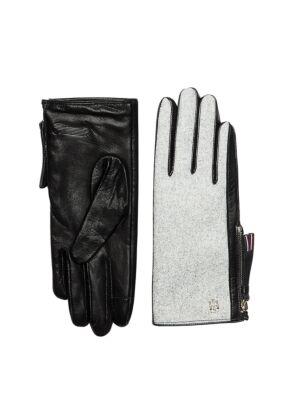 Kožne ženske rukavice - Tommy Hilfiger