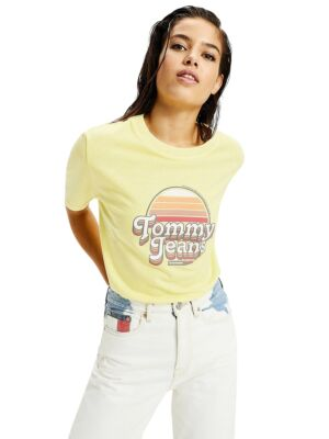 Žuta ženska majica - Tommy Hilfiger