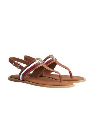 Ravne ženske sandale - Tommy Hilfiger