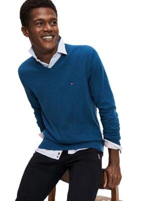 Muški džemper sa diskretnim logotipom brenda - Tommy Hilfiger