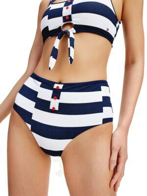 Ženski prugasti kupaći - Tommy Hilfiger