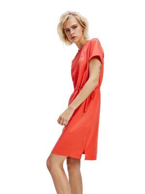 Narandžasta haljina sa učkurom - Tommy Hilfiger