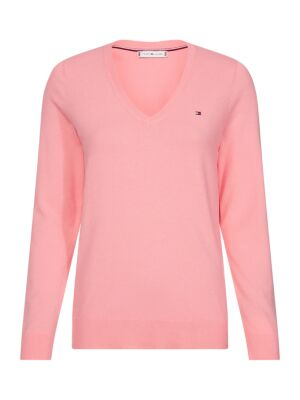 Roza ženski džemper - Tommy Hilfiger