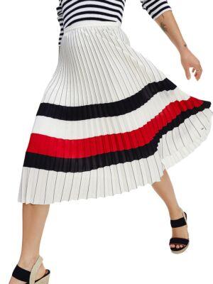 Midi suknja sa falticama - Tommy Hilfiger