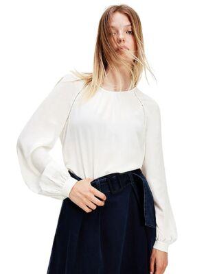 Bela ženska bluza - Tommy Hilfiger