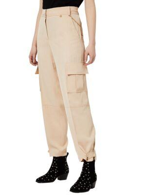 Bež ženske kargo hlače - Liu Jo