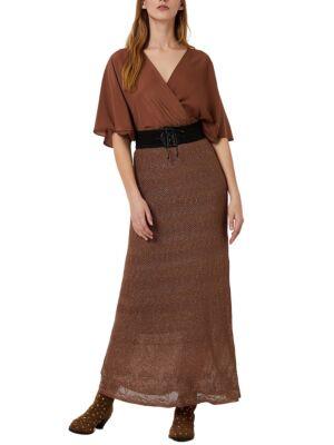 Maxi braon haljina - Liu Jo