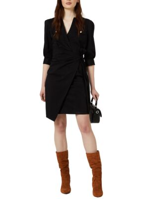 Crna haljina iznad kolena - Liu Jo