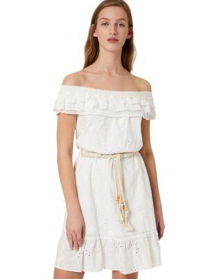 Ljetna bijela mini haljina - Liu Jo