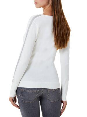 Beli ženski džemper - Liu Jo