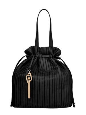 Crna torba sa zlatnim priveskom - Liu Jo