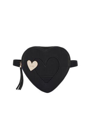 Crna ženska srce torba - Liu Jo