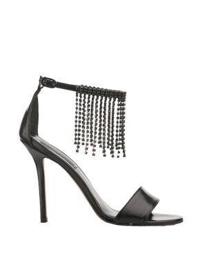 Crne sandale sa štiklom - Liu Jo