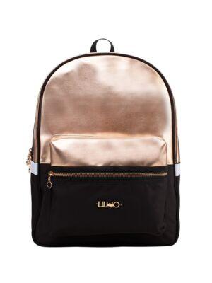 Crno-zlatni ženski ruksak - Liu Jo