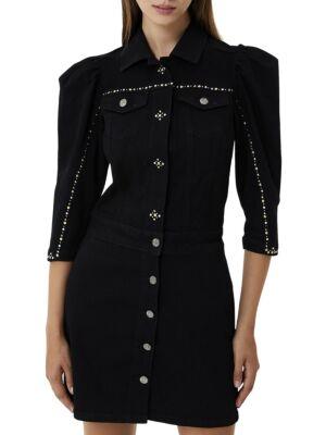 Crna mini haljina - Liu Jo