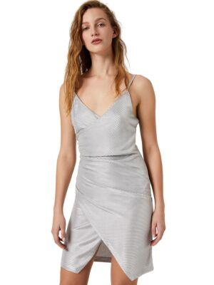 Srebrna mini haljina - Liu Jo