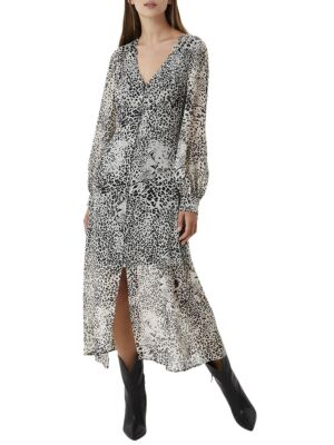 Midi leopard print haljina - Liu Jo