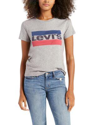 Ženska majica sa logo printom - Levis