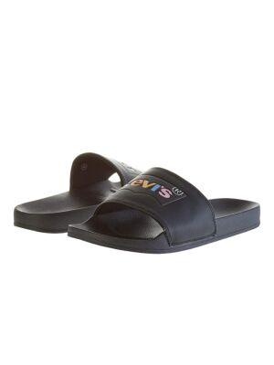 Crne muške logo papuče - Levis