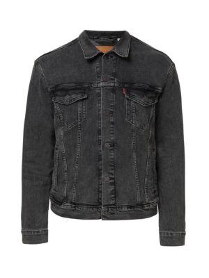 Kratka crna texas jakna - Levis