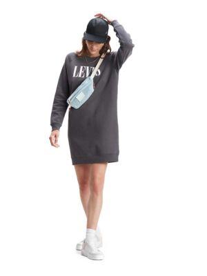 Mini duks haljina u sivoj boji - Levis