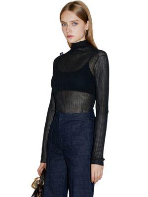 Transparentan ženski džemper - Miss Sixty