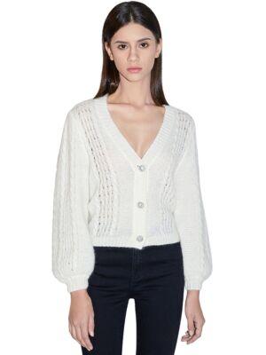 Beli ženski džemper - Miss Sixty