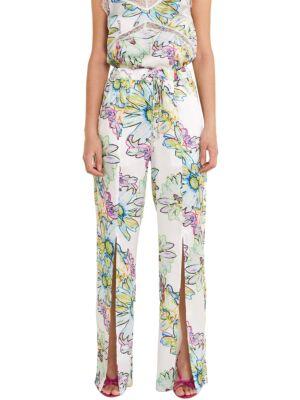 Cvetne ženske pantalone - Patrizia Pepe