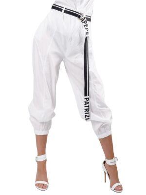 Bele ženske pantalone - Patrizia Pepe