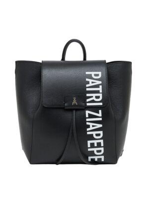 Crni ženski logo ranac - Patrizia Pepe