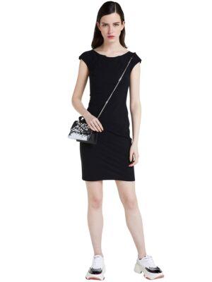 Crna mini haljina - Patrizia Pepe