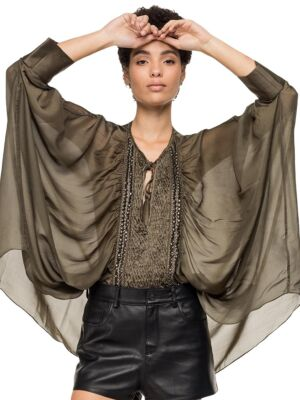 Transparentna ženska bluza- Replay