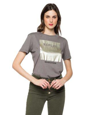 Ženska majica sa aplikacijom - Replay