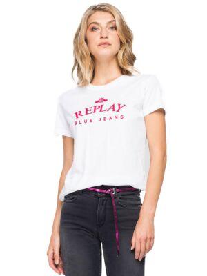 Ženska majica sa logom- Replay
