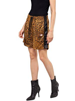 Leopard ženski šorts - Replay