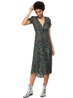 Cvjetna midi haljina - Replay