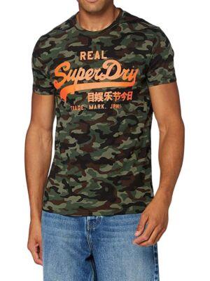 Maskirana muška majica - Superdry