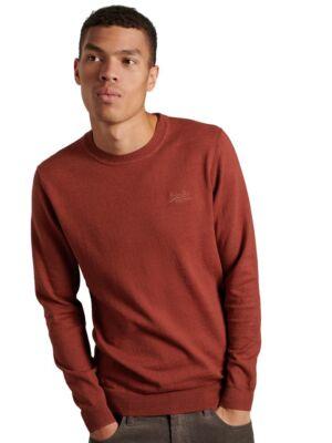 Bordo muški džemper - Superdry
