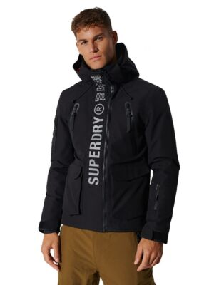 Muška crna jakna - Superdry