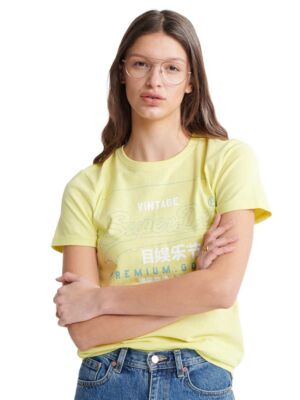 Žuta ženska majica - Superdry