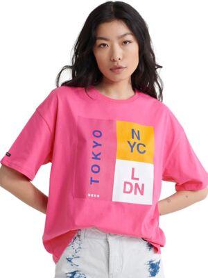 Široka ženska majica - Superdry