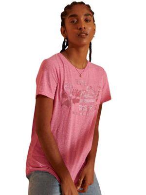 Pink ženska majica - Superdry
