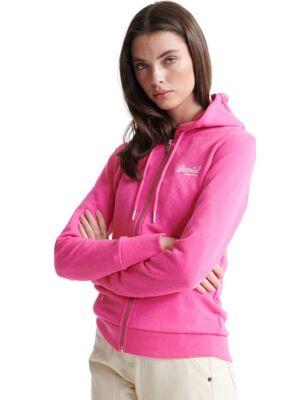 Pink ženski duks - Superdry
