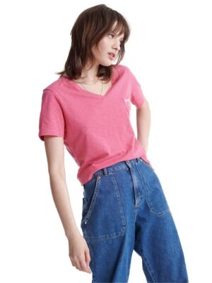 Roze ženska majica - Superdry