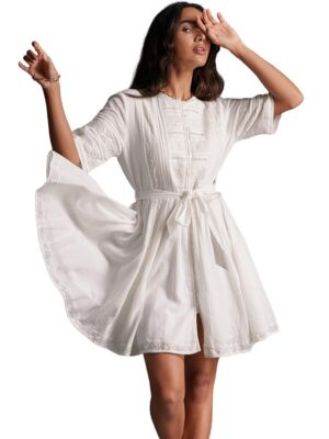Lepršava mini haljina - Superdry