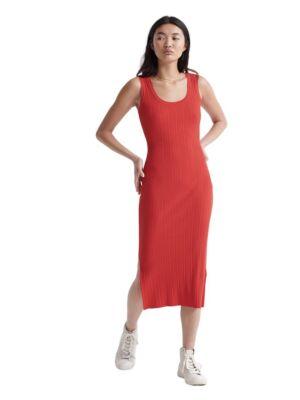 Crvena uska haljina - Superdry
