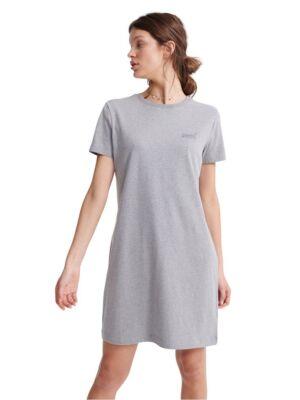 Siva haljina kratkih rukava - Superdry