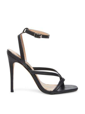 Crne sandale sa štiklom - Steve Madden