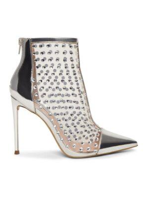 Srebrne ženske čizme - Steve Madden