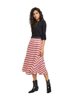 Midi suknja sa printom - Scotch&Soda